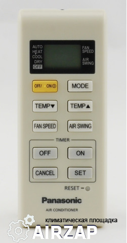 Пульт для кондиционера Panasonic CS-YW7_9_12MKD A75C3747