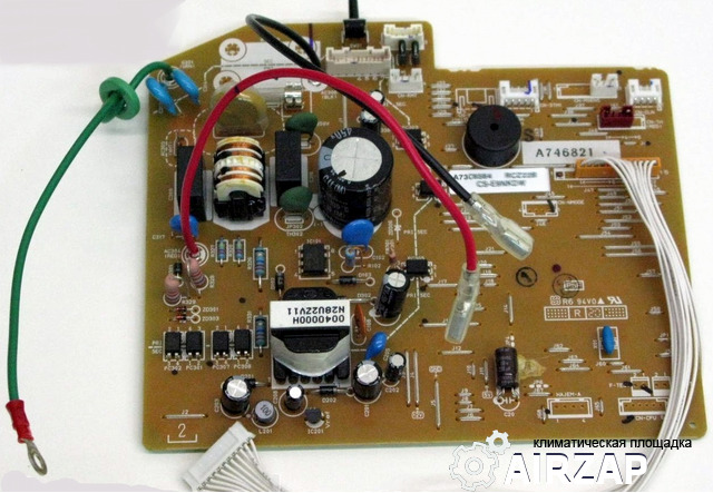 Плата управления (MAIN) внутр. блока кондиционера Panasonic модели CS-E15NKD CWA73C6566