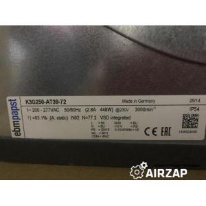 Вентилятор K3G250-AT39-72 ebmpapst