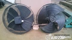Осевые вентиляторы конденсаторных блоков