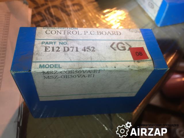 E12D71452 плата управления внутреннего блока