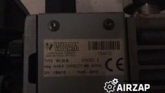 вакуумный двухступеньчатый насос wigam rv25b